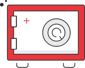 Off-site backup icon