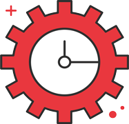 Real-Time Network Monitoring Service Icon