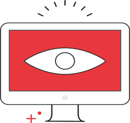 Security Event Monitoring Service Icon