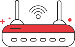 Wireless Network Services Icon